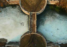 Харьковская область Аэрофотосъемка для рекламной полиграфии Мост в Шаровке,