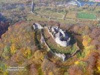 Невицкий замок с высоты птичьего полета