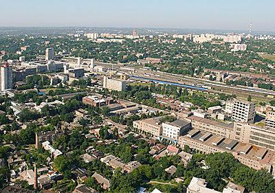 Харьков с дрона. Аэрофотосъемка как основа для архитектурной визуализации