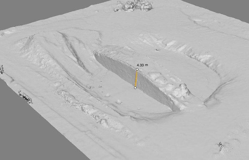 Линейные измерения на 3D модели