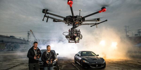 Школа съемки с дрона в кино