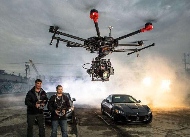 Съемка с дрона в кино