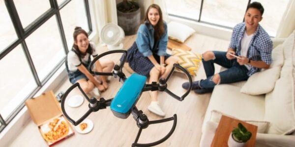 Обучение фото и видеосъемка с дрона