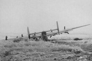 B24 Liberator вынужденная посадка в Полтаве