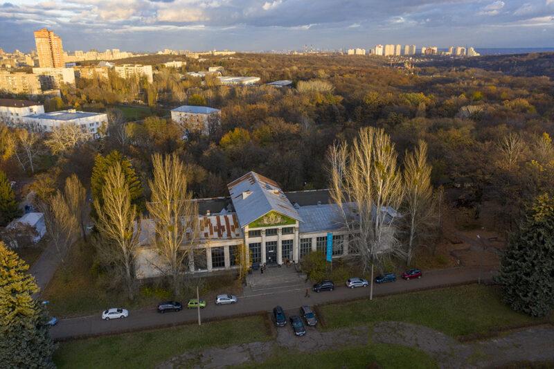 ВДНГ Киев Перспективная съемка Студия Пандора