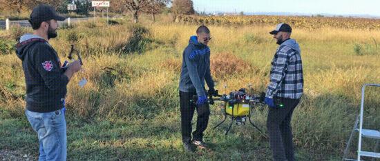 Пилот агро дрона